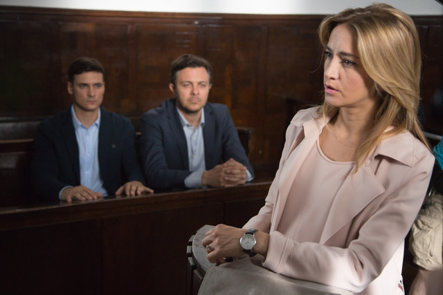 Hana zeznaje w sądzie /Agencja W. Impact