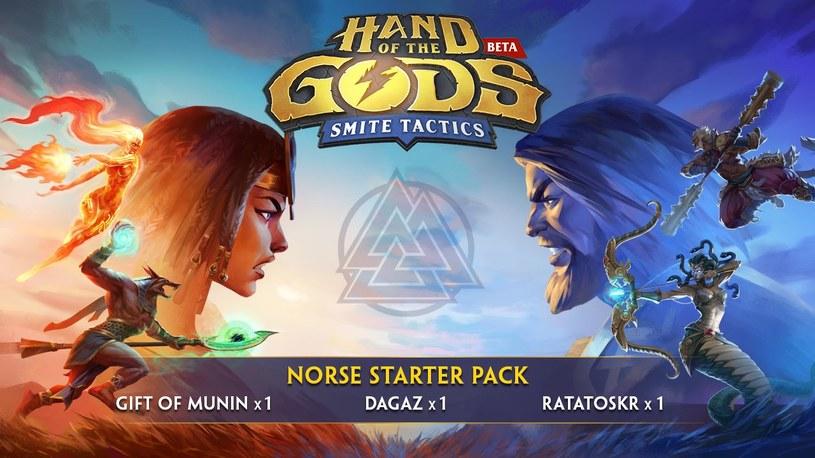 Hand of the Gods: SMITE Tactics /materiały prasowe
