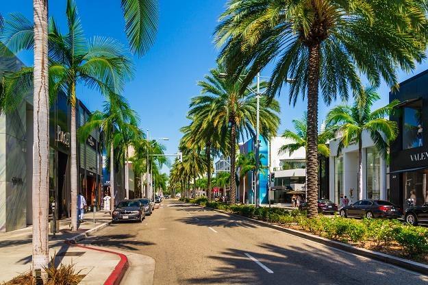 Handlowa ulica Rodeo Drive w Beverly Hills /©123RF/PICSEL