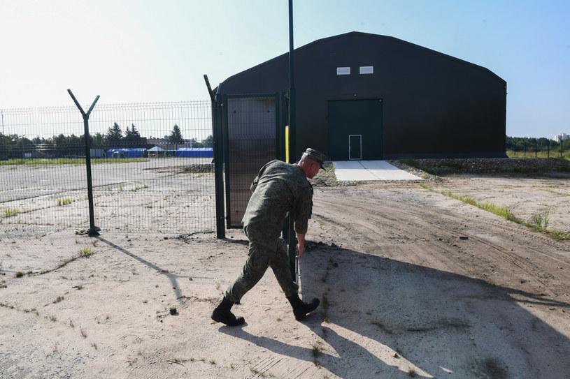 Hangar, w którym znajduje się wrak tupolewa /Iliya Pitalev/SPUTNIK Russia /East News