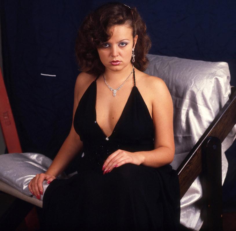 Hanna Banaszak, 1981 rok, fot. Antoni Zdebiak /Agencja FORUM