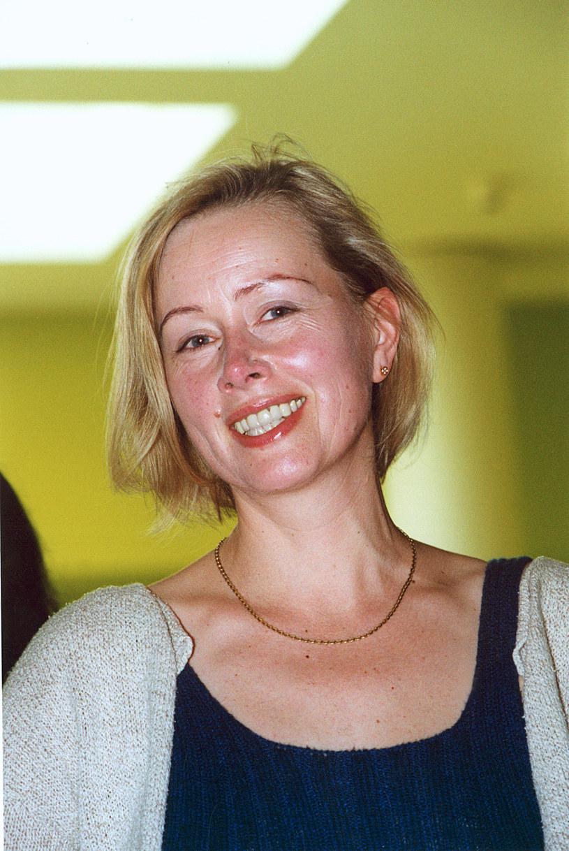 Hanna Dunowska. 2002 rok /Prończyk /AKPA