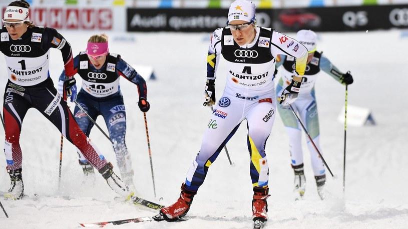 Hanna Falk bei der Ski-WM in Lahti /Eurosport