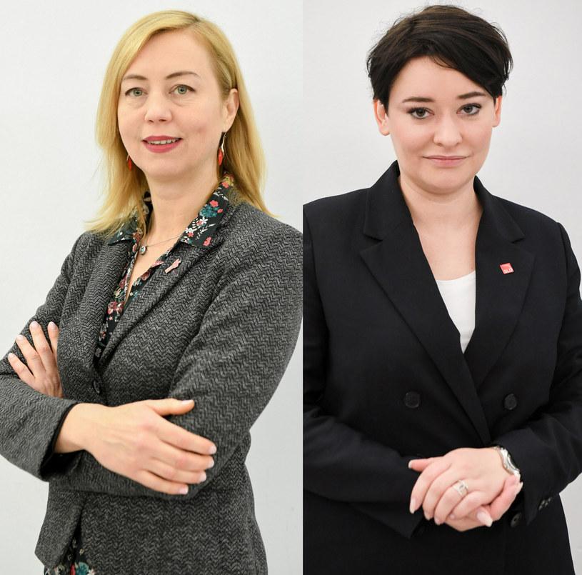 Hanna Gill-Piątek, Anna Maria Żukowska, fot. Jacek Dominski /Piotr Molecki /East News