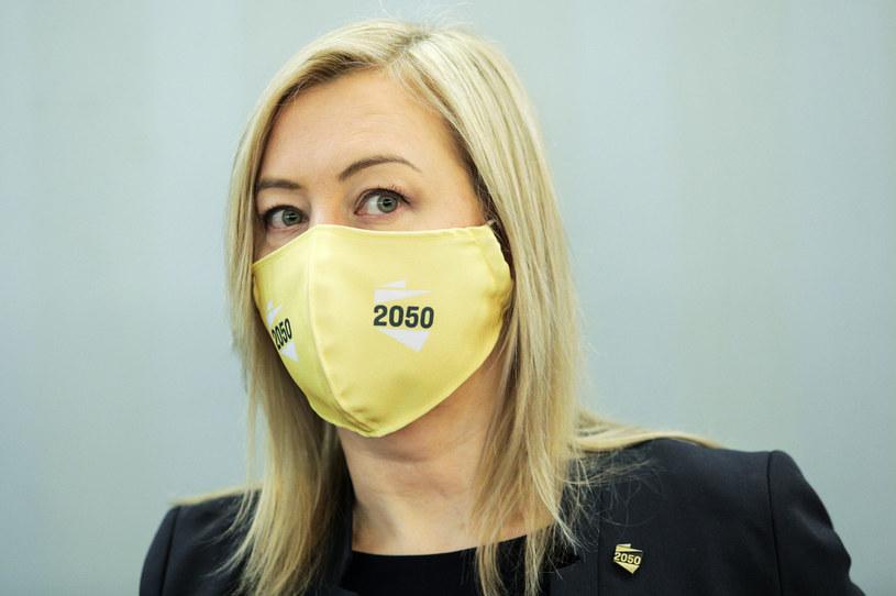 Hanna Gill-Piątek /Andrzej Hulimka  /Agencja FORUM
