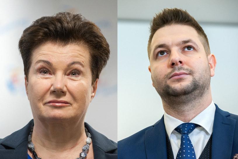 Hanna Gronkiewicz-Waltz apeluje do Patryka Jakiego o zwrot pieniędzy z grzywien /Grzegorz Krzyzewski /Reporter