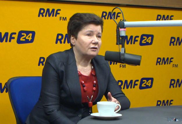 """Hanna Gronkiewicz-Waltz była gościem """"Kontrwywiadu"""" /RMF"""