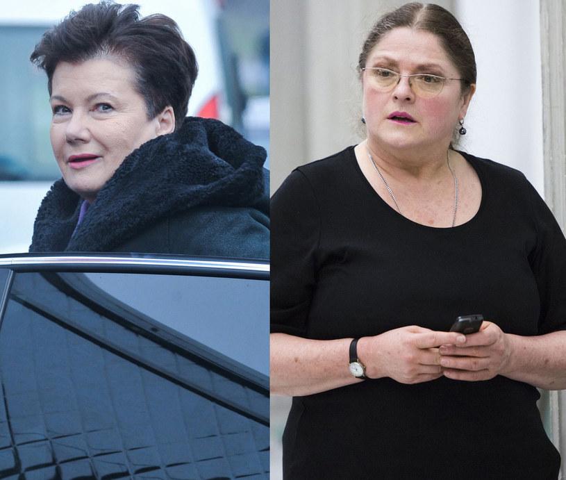 Hanna Gronkiewicz-Waltz, Krystyna Pawłowicz, fot. Artur Zawadzki, Andrzej Hulimka /Reporter
