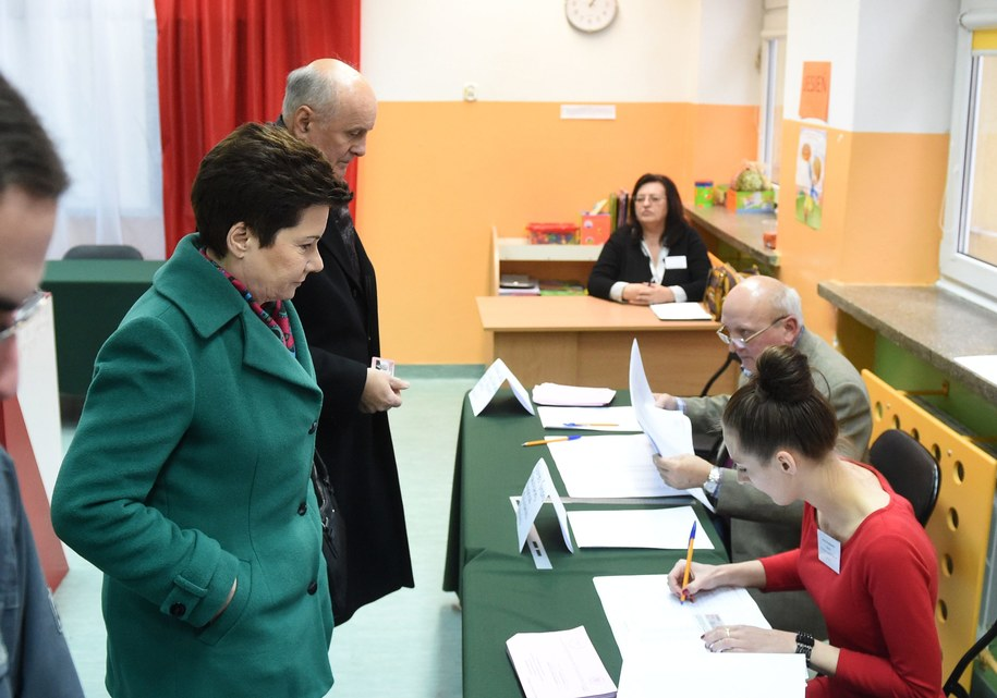 Hanna Gronkiewicz-Waltz prezydentem Warszawy /Radek Pietruszka;  /PAP