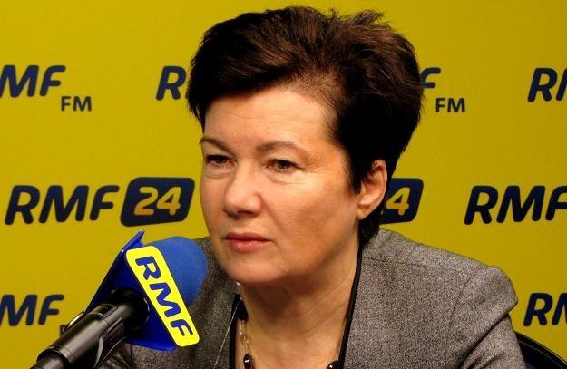 Hanna Gronkiewicz Waltz /RMF