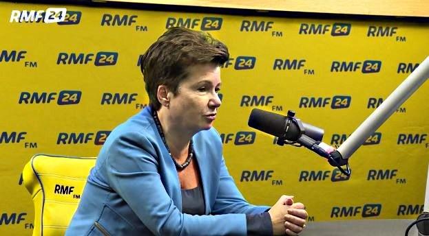 Hanna Gronkiewicz-Waltz /RMF FM