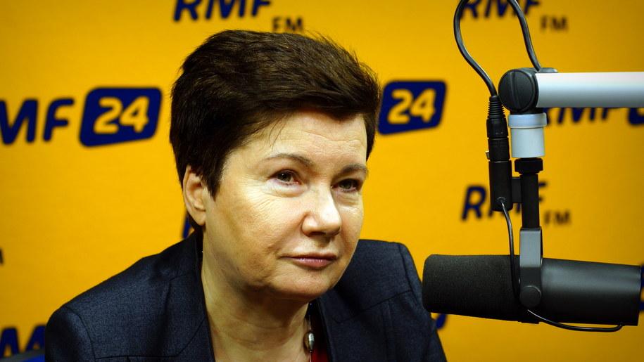 Hanna Gronkiewicz-Waltz /Michał Dukaczewski /RMF FM