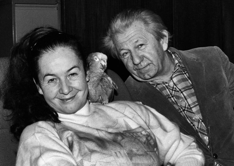 Hanna i Antoni Gucwińscy, 1992 r. /Piotr Cieśla /Agencja FORUM