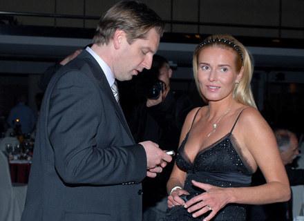 Hanna i Tomasz Lis, fot. A.Szilagyi /MWMedia
