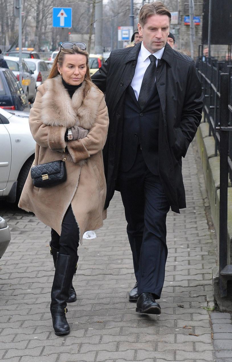Hanna i Tomasz Lisowie /East News