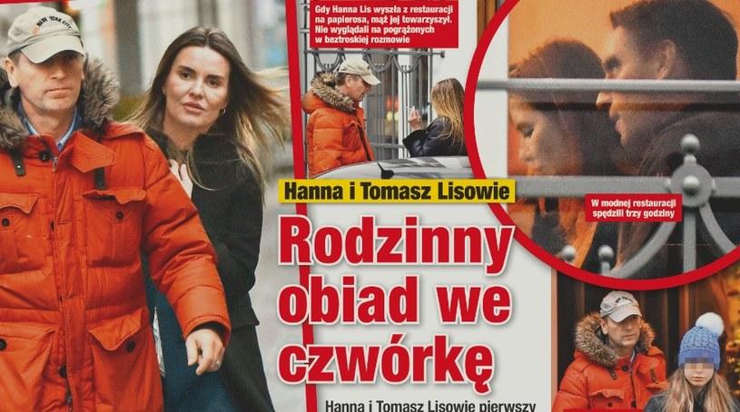 Hanna i Tomasz na wspólnym rodzinnym obiedzie! /- /Twoje Imperium