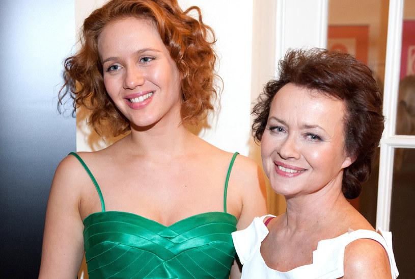 Hanna Konarowska z mamą /- /MWMedia