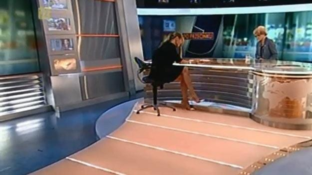 Hanna Lis: Być jak Monika Olejnik... - fot. YouTube /