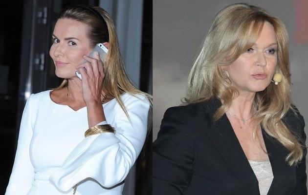 Hanna Lis i Grażyna Torbicka /- /MWMedia