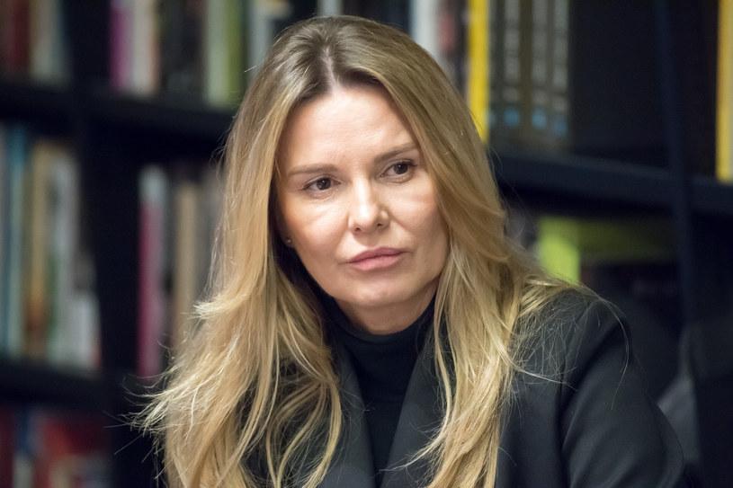 Hanna Lis jest teraz bardzo aktywna w mediach społecznościowych /Wojciech Stróżyk /Reporter