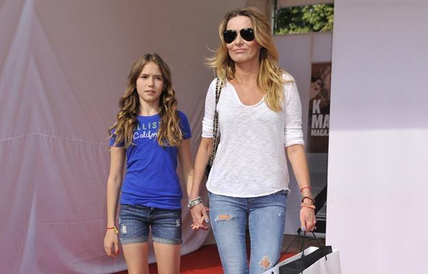 Hanna Lis z córką Anią w 2012 roku /AKPA