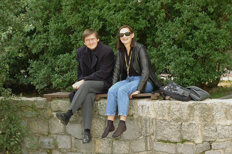 Hanna Mikuć z mężem /Prończyk /AKPA