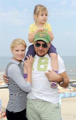 Hanna Śleszyńska bardzo lubi nową rodzinę Piotra Gąsowskiego /  /Agencja W. Impact