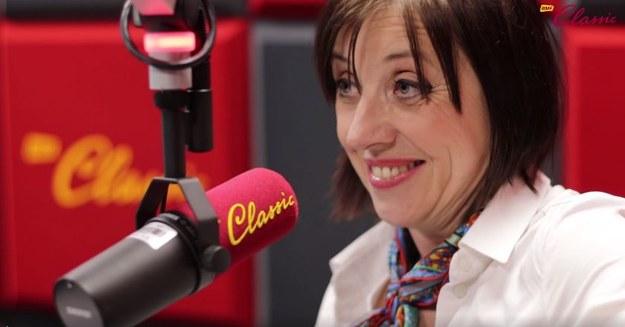 Hanna Śleszyńska w studiu RMF Classic /Michał Dukaczewski /RMF FM