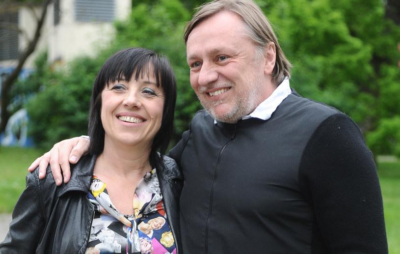 Hanna Śleszyńska z partnerem /Piotr Andrzejczak /MWMedia