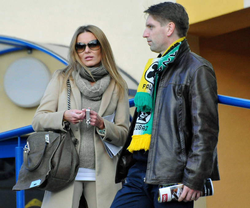 Hanna Smoktunowicz-Kedaj-Lis, Tomasz Lis, fot.Reporter/Zaff /Tomasz Gawałkiewicz /East News