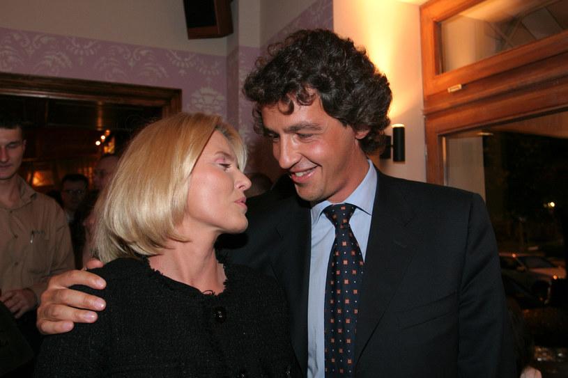 Hanna z Jackiem w restauracji Gessler /- /AKPA