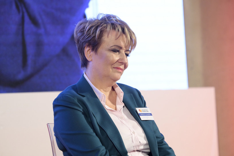 Hanna Zdanowska, prezydent Łodzi. /Adam Jankowski /Reporter