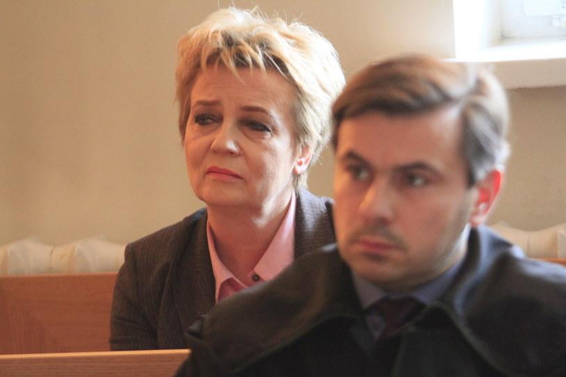 Hanna Zdanowska w trakcie rozprawy /Dziennik Łódzki /East News