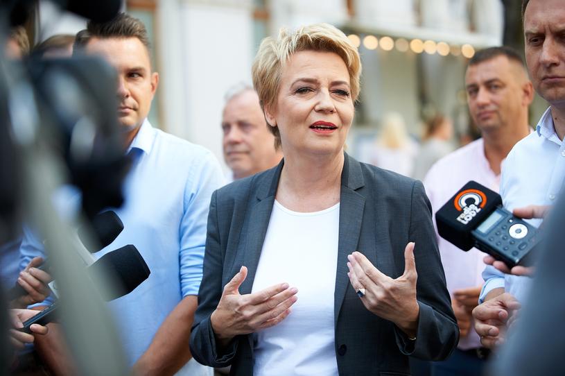 Hanna Zdanowska /Łukasz Szeląg /Reporter