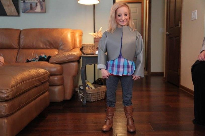 Hannah Kritzeck ma tylko 99 cm wzrostu /Discovery Life /materiały prasowe