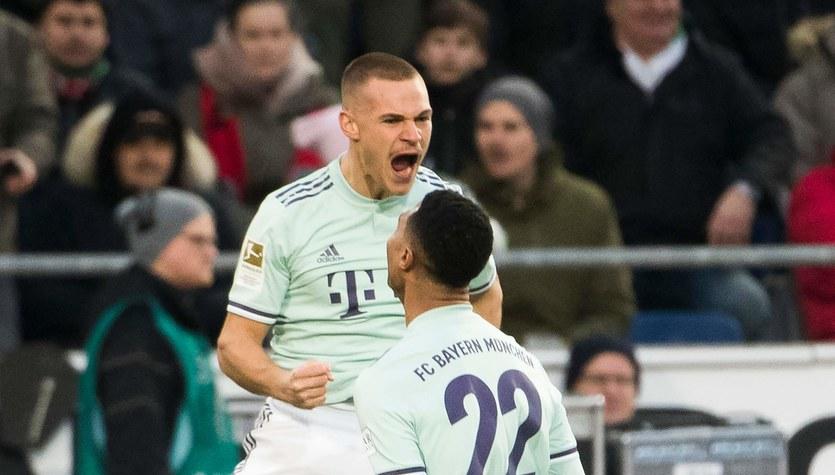 Hannover 96 - Bayern Monachium 0-4 w 15. kolejce Bundesligi