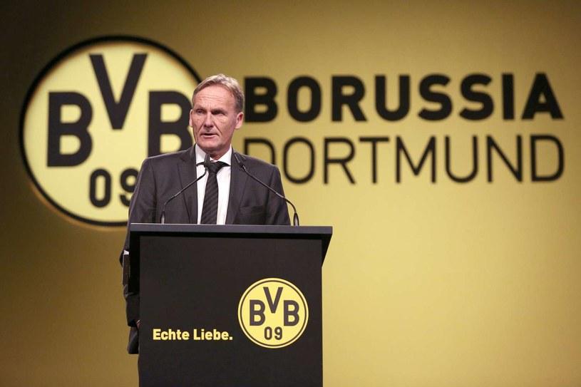 Hans-Joachim Watzke, dyrektor wykonawczy Borussii Dortmund /AFP