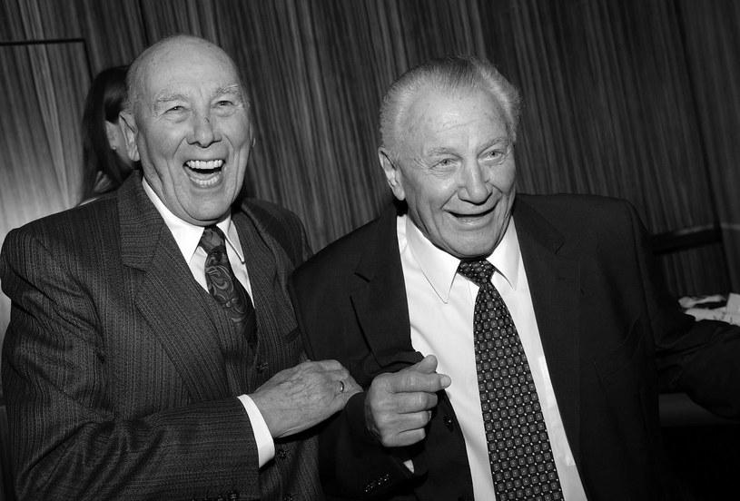 Hans Schaefer (z prawej) miał 90 lat /AFP