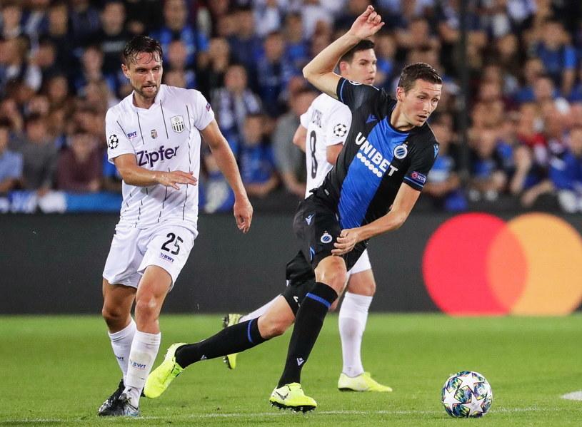 Hans Vanaken strzelił gola dla Club Brugge /PAP/EPA