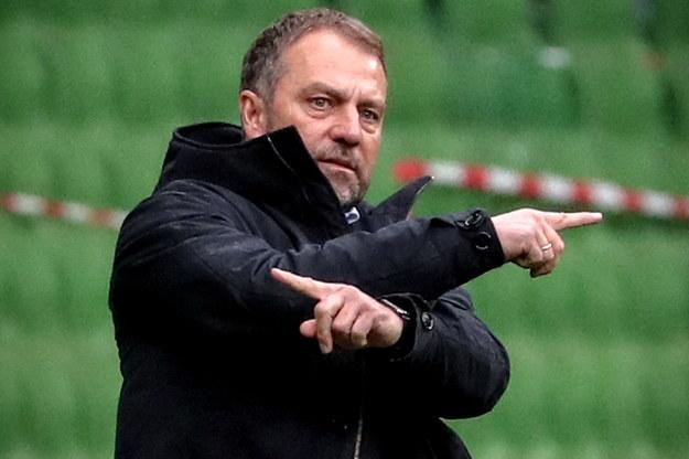 Hansi Flick chce odejść z Bayernu Monachium /FOCKE STRANGMANN /PAP/EPA