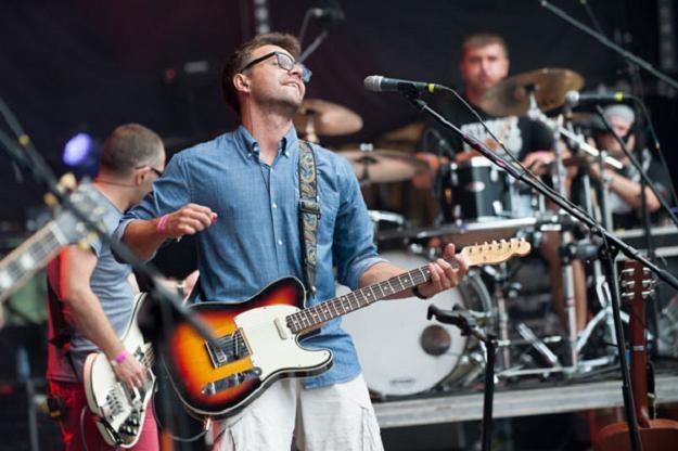 Happysad na Przystanku Woodstock 2012 - fot. Robert Grablewski /WOŚP