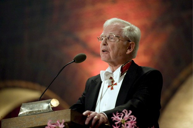 Harald zur Hausen /HENRIK MONTGOMERY /PAP/EPA