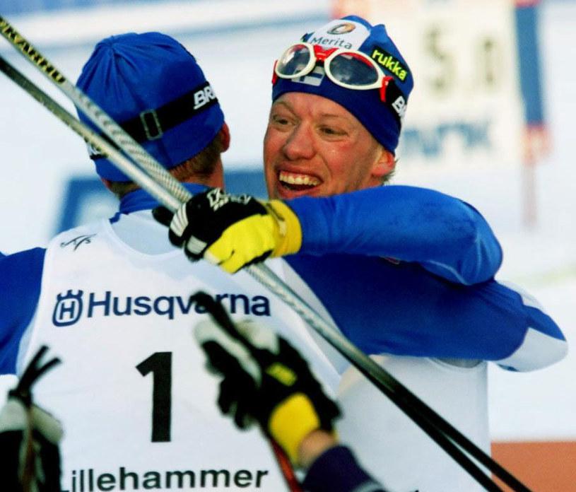 Harii Kirvesniemi i Jari Isometsae /AFP