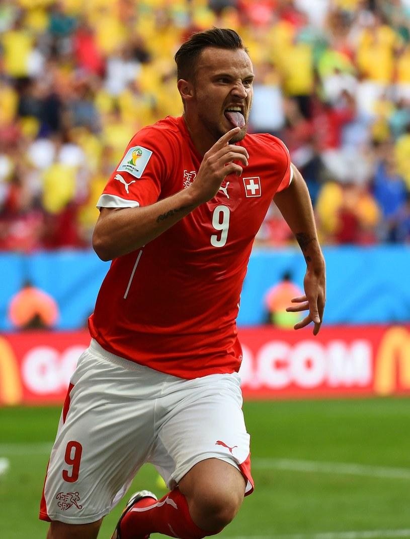 Haris Seferović zapewnił Szwajcarom zwycięstwo w meczu z Ekwadorem /AFP