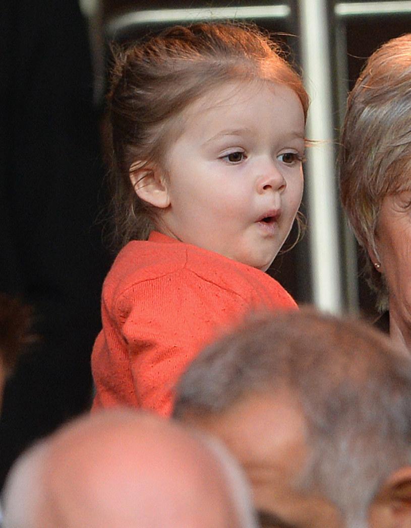 Harper Beckham musiała przejść na dietę! /Michael Regan /Getty Images