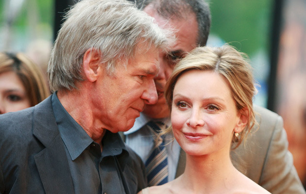 Harrison Ford i Calista Flockhart, fot. Stephen Lovekin  /Getty Images/Flash Press Media