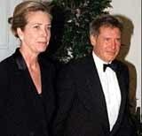 Harrison Ford i Melissa Mathison /Archiwum