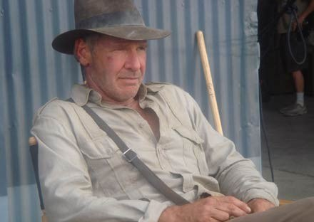 Harrison Ford jako Indiana Jones /