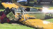 Harrison Ford ranny w wypadku lotniczym