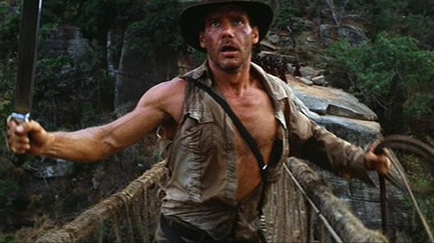 """Harrison Ford w filmie """"Indiana Jones i Świątynia Zagłady"""" /Internet"""